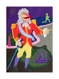 The Governor of Buenos Aires, Illustration to Chapter 13 of 'Candide' by Voltaire (1694-1778) Giclee Print by Hugh Bulley