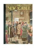 The New Yorker Cover - March 3, 1951 Premium Giclee Print by Perry Barlow