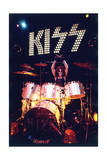 KISS - Peter Criss 1973 Photo by  Epic Rights