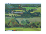 Burpham Cows, 2012 Giclee Print by Piers Ottey