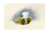 The White Hackle Giclee Print by Alison Cooper