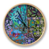 B-Jeweled Deco III Clock by Ricki Mountain