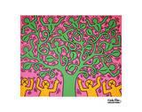 Ohne Titel Kunst von Keith Haring