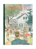 The New Yorker Cover - July 28, 1951 Premium Giclee Print by Perry Barlow
