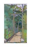 The Ghurka Bridge, 2011 Giclee Print by Piers Ottey