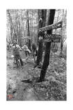 Woodstock- Groovy Way Gentle Path High Way (Black and White) Poster von  Epic Rights