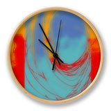 Surf's Up I Clock by Ricki Mountain