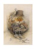 Leprechaun Cobbler Giclee Print by Wayne Anderson