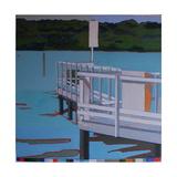Birdham Jetty, 2013 Giclee Print by Piers Ottey