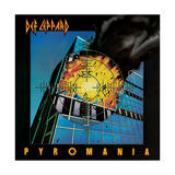 Def Leppard - Pyromania 1983 Art by  Epic Rights