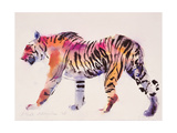 Stripey Giclee Print by Mark Adlington