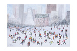 Skating Rink, Central Park, New York, 1994 Giclee Print by Judy Joel