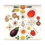 Fruit and Vegetables Giclee Print by Wayne Anderson