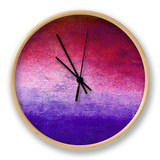 Hope Floats VI Clock by Ricki Mountain