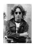 John Lennon - Whatever Gets You Thru The Night 1974 (Black and White) Prints by  Epic Rights
