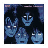 KISS - Creatures from the Night (1982) Kunst af Epic Rights