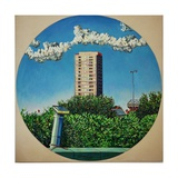 Summer Canning Town Giclee Print by Noel Paine