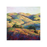 Pasoscapes (left) Giclee Print by Erin Hanson