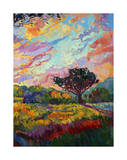 California Sky (bottom right) Giclee Print by Erin Hanson