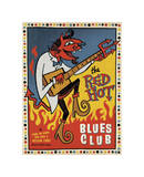 Red Hot Blues Wydruk giclee autor Anderson Design Group