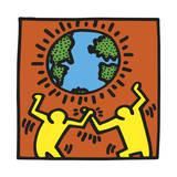 Keith Haring - Pop Shop - Giclee Baskı