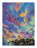 California Sky (top left) Giclee Print by Erin Hanson