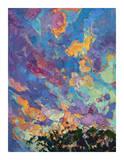 California Sky (top left) Giclee Print by Erin Hanson