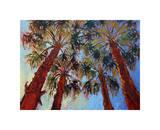 La Quinta Palms Giclee Print by Erin Hanson