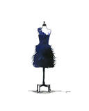 The Midnight Dress Giclee Print by Jessica Durrant