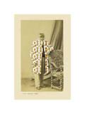 Gaston Giclee Print by Philippe Debongnie