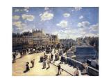 Le Pont-Neuf, à Paris Giclee Print by Pierre-Auguste Renoir