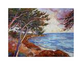 Monterey Cypress Giclee Print by Erin Hanson