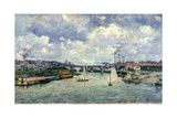 Le Pont de Charenton Giclee Print by Armand Guillaumin