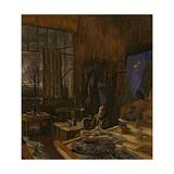 Portrait de Ker Xavier Roussel Impression giclée par Edouard Vuillard