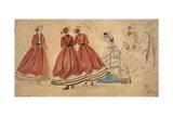 Etude de plusieurs femmes Giclee Print by Eugène Boudin