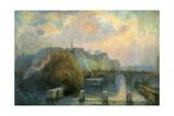 L'île de la Cité, matinée d'automne Giclee Print by Albert Lebourg