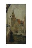Le Pavillon de l'Allemagne à l'exposition Universelle de 1900 Giclee Print by Edouard Zawiski
