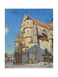 L'Eglise de Moret (le soir) Giclee Print by Alfred Sisley