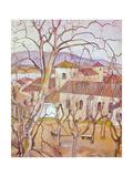 Paysage de Saint-Bernard Giclee Print by Suzanne Valadon