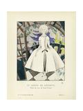 Le Jardin de l'infante, robe du soir de Paul Poiret Giclée-trykk av Charles Martin