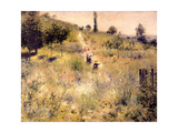 Chemin montant dans les hautes herbes Giclee Print by Pierre-Auguste Renoir
