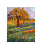 Colors of Brenham (left) Giclee Print by Erin Hanson