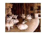 Répétition d'un ballet sur la scène Giclee Print by Edgar Degas