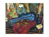 La boîte à violon Giclée-Druck von Suzanne Valadon