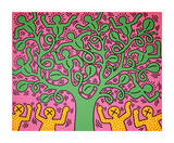Keith Haring - Beze jména Digitálně vytištěná reprodukce