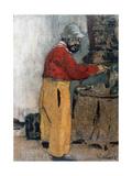 Henri de Toulouse-Lautrec à Villeneuve-sur-Yonne (1898) Giclée-Druck von Edouard Vuillard
