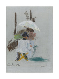 Artiste à son chevalet Giclee Print by Armand Guillaumin
