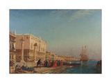 Venise, le palais des Doges Giclee Print by Felix Ziem