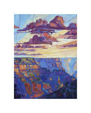 The North Rim V Giclee Print by Erin Hanson