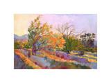 Desert Garden Giclee Print by Erin Hanson
